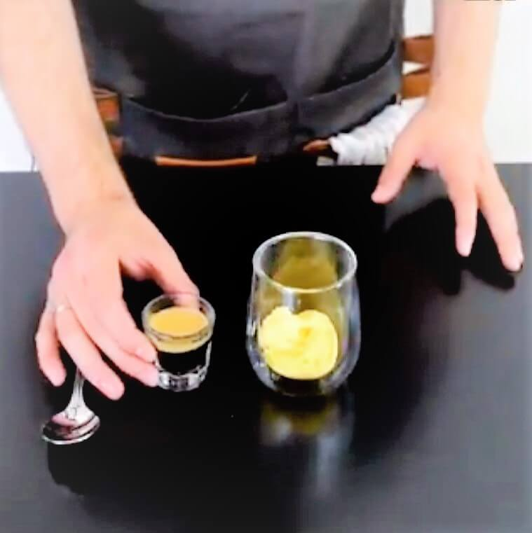 video - affogato receta café con helado