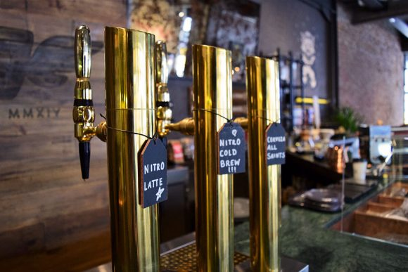 Nitro Cold Brew, el novedoso producto de All Saints Café Microcentro
